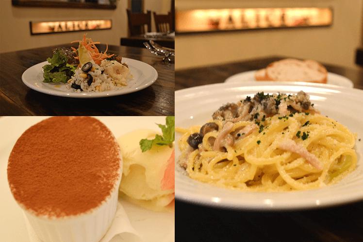 本格イタリアンがお手頃価格で食べられます。